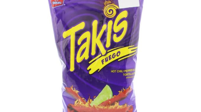 Save $0.50 off (1) Barcel Takis Tortilla Chips Coupon