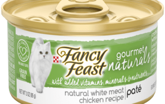 Save $1.00 off (6) Purina Fancy Feast Gourmet Naturals Printable Coupon