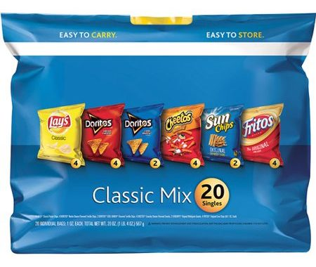 Save $1.00 off (1) Frito Lay Classic Mix Multipack Coupon