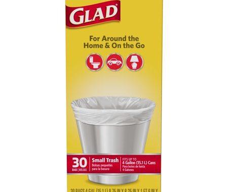 Save $0.75 off (1) Glad Household Trash Bags Printable Coupon
