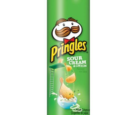 Save $1.00 off (4) Pringles Full Size Can Potato Chips Coupon