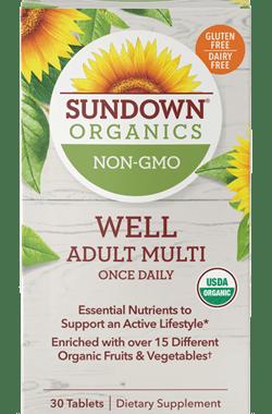 Save $5.00 off (1) Sundown Organics Vitamins Printable Coupon