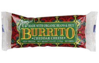 Save $1.00 off any (3) Amy's Organic Burrito Coupon