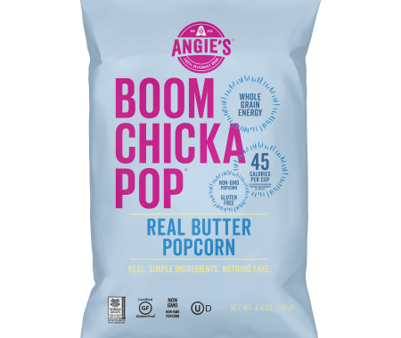 Save $1.00 off (2) Angie's Boomchickapop Popcorn Coupon