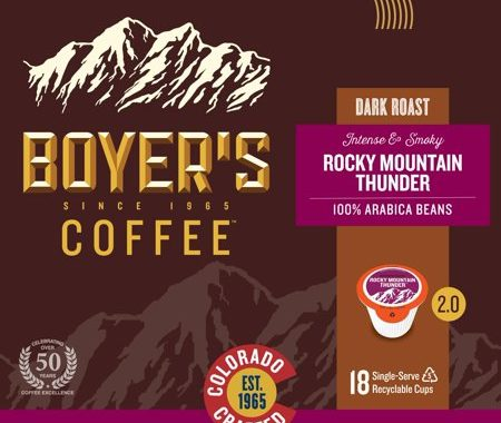 Save $5.00 off (1) Boyer's Coffee Single Serve Cups Coupon