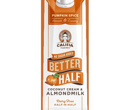 Save $0.50 off (1) Califia Farms Better Half Cream Coupon