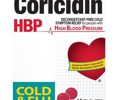 Save $1.00 off (1) Coricidin HBP Cough & Cold Coupon