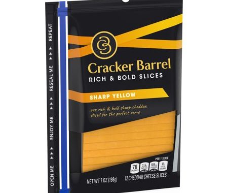 Save $1.00 off (2) Cracker Barrel Cheese Slices Coupon
