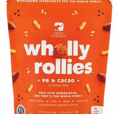 Save $1.00 off (1) Crazy Richards Wholly Rollies Coupon