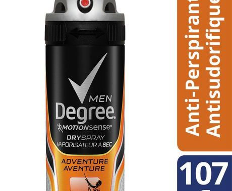 Save $1.50 off (1) Degree Men Motion Sense Dry Spray Coupon