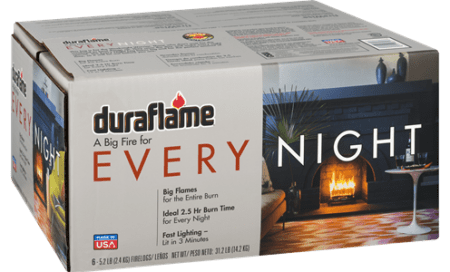 Save $2.00 off (1) Duraflame Every Night FireLogs Coupon