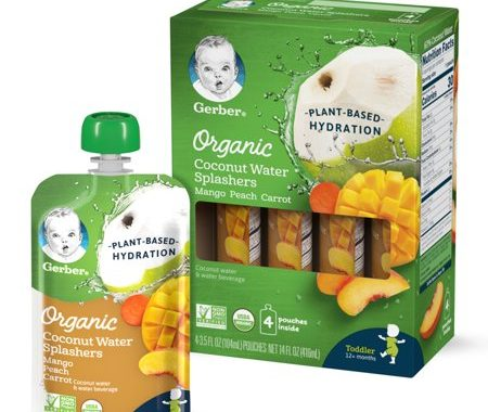 Save $3.00 off (1) Gerber Organic Coconut Water Splashers Coupon