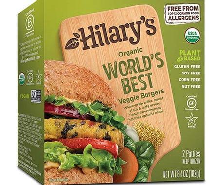 Save $1.00 off (1) Hilary's Veggie Burgers Coupon