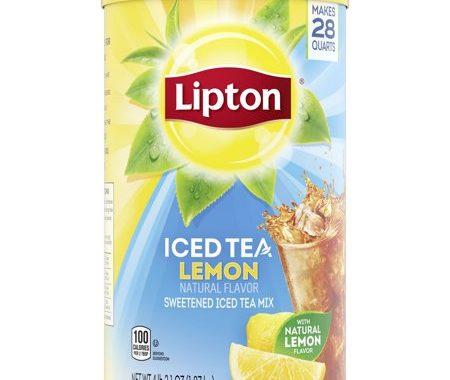 Save $0.40 off (1) Lipton Iced Tea Mix Printable Coupon