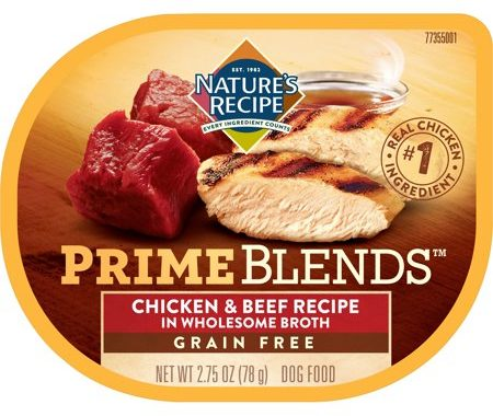 Save $1.00 off (3) Nature's Recipe Prime Blends Dog Food Coupon