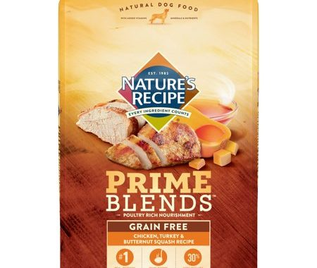 Save $4.00 off (1) Nature's Recipe Prime Blends Dry Dog Food Coupon