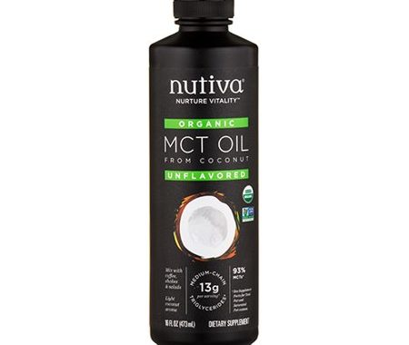 Save $5.00 off (1) Nutiva Organic MCT Oil Coupon