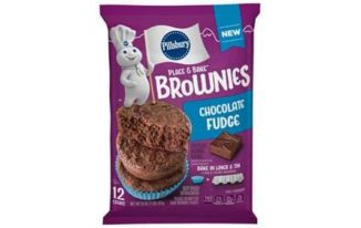 Save $0.50 off (1) Pillsbury Place & Bake Brownies Printable Coupon