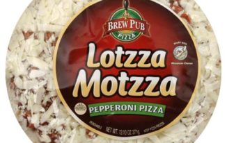 Save $2.00 off (1) Brew Pub Lotzza Motzza Pepperoni Pizza Coupon