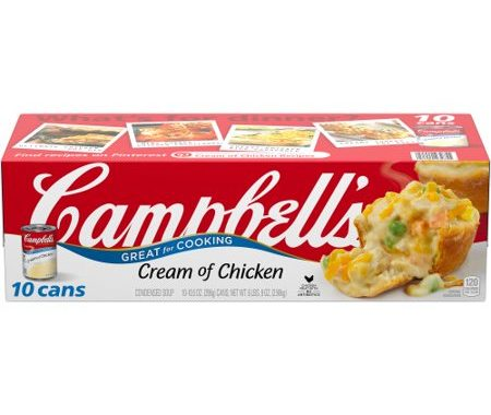 Save $1.00 off (1) Campbell's Condensed Cream of Chicken Soup Coupon