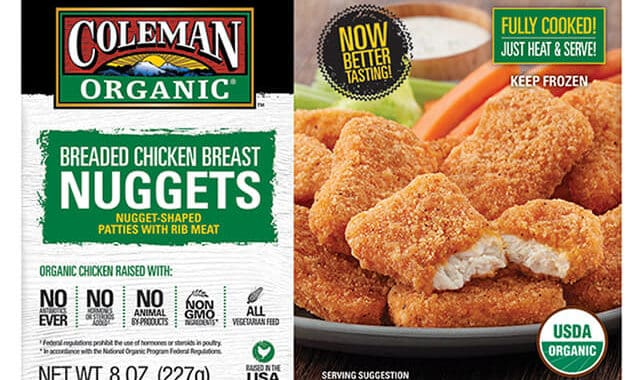 Save $1.50 off (1) Coleman Organic Chicken Nuggets Coupon