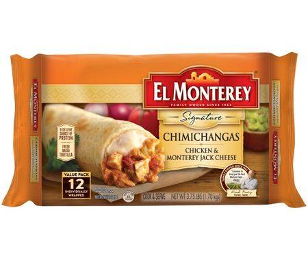 Save $1.00 off (1) El Monterey Signature Chimichangas Coupon