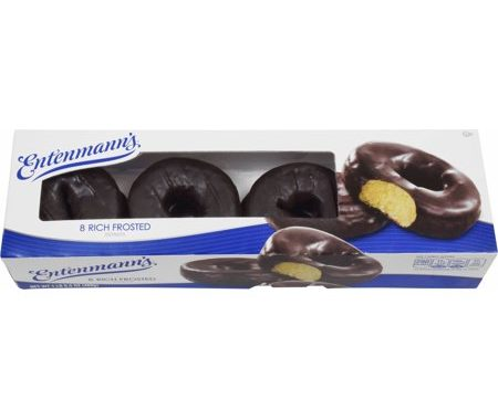 Save $0.50 off (1) Entenmann's Rich Frosted Donuts Coupon