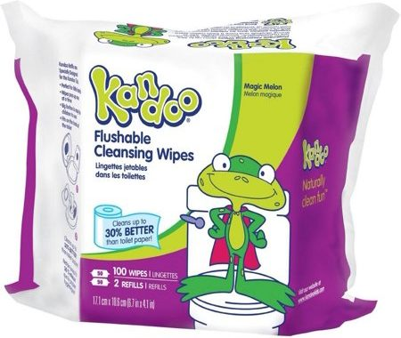 Save $1.00 off (1) Kandoo Sensitive Flushable Baby Wipes Coupon