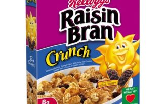Save $0.50 off (1) Kellogg's Raisin Bran Crunch Cereal Coupon