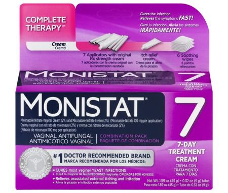 Save $2.00 off (1) Monistat 7-Day Treatment Cream Coupon