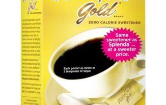 Save $0.40 off (1) NatraTaste Gold Sweetener Coupon