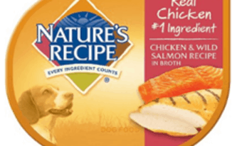 Save $1.50 off (5) Nature's Recipe Wet Dog Food Cups Coupon