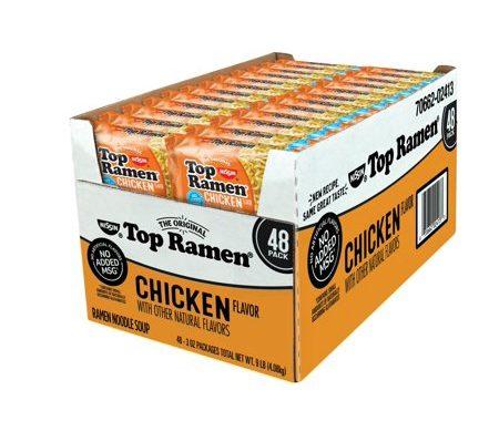 Save $1.00 off (1) Nissin Top Ramen Chicken Flavor Coupon