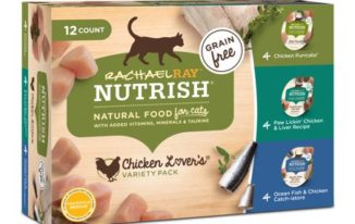 Save $3.00 off (1) Rachael Ray Wet Cat Food Variety Pack Coupon