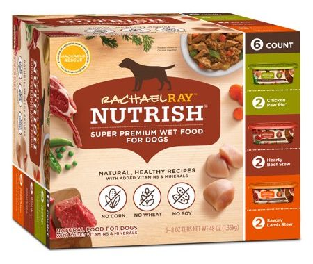 Save $2.00 off (1) Nutrish Wet Dog Food Variety Pack Coupon