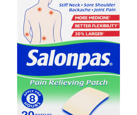 Save $2.00 off (1) Salonpas Pain Relieving Patch Coupon