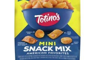 Save $1.00 off (1) Totino's Mini Snack Mix Printable Coupon