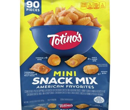 Save $1.00 off (1) Totino's Mini Snack Mix Printable Coupon