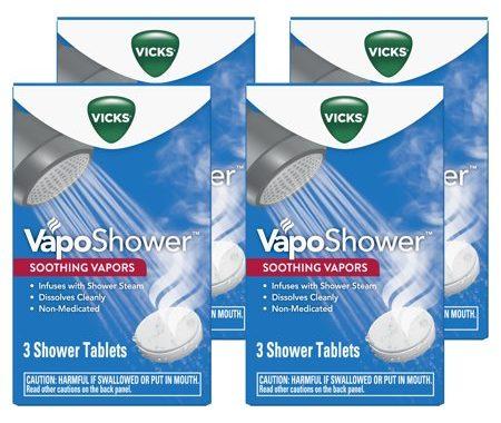 Save $1.00 off (1) Vicks VapoShower Soothing Vapors Coupon
