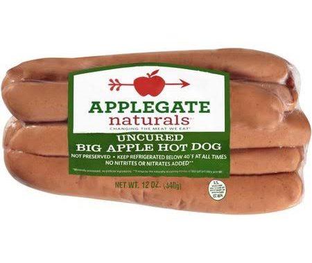 Save $0.75 off (1) Applegate Naturals Hot Dog Coupon