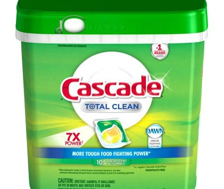Save $3.00 off (1) Cascade Total Clean ActionPacs Coupon