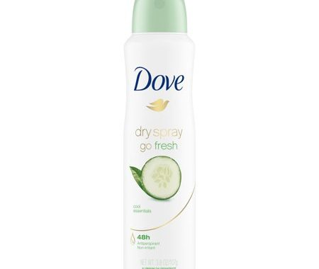Save $1.25 off (1) Dove or Degree Dry Spray Printable Coupon