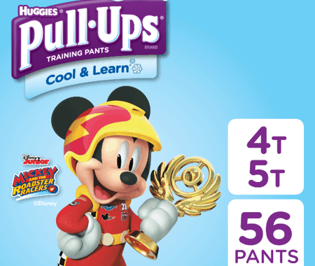 Save $2.00 off (1) Huggies Pull-Ups Cool & Learn Training Pants Coupon
