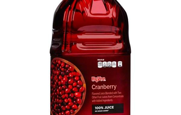 Save $0.75 off (1) Hy-Vee Cranberry Juice Coupon