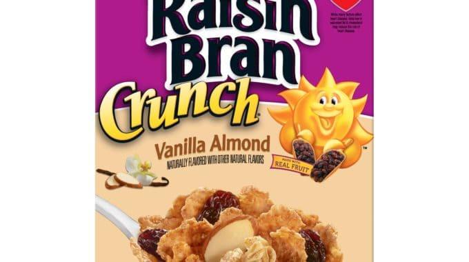 Save $0.70 off (1) Kellogg's Raisin Bran Vanilla Almond Cereal Coupon