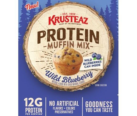 Save $1.00 off (1) Krusteaz Protein Muffin Mix Coupon