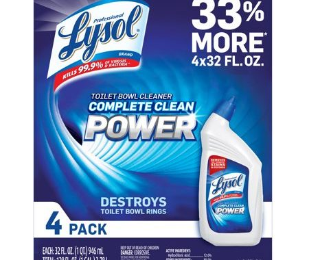 Save $2.50 off (1) Lysol Power Toilet Bowl Cleaner Coupon