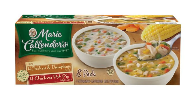 Save $3.00 off (1) Marie Callender's Chicken Variety Soup Coupon