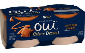 Save $0.50 off (1) Oui Yoplait Creme Desserts Coupon