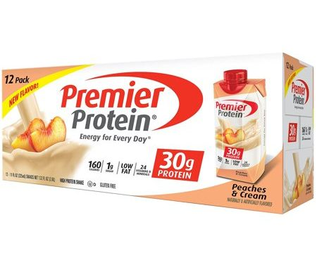 Save $4.00 off (1) Premier Protein Peaches & Cream Coupon